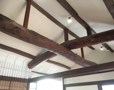 Old House Big Beam