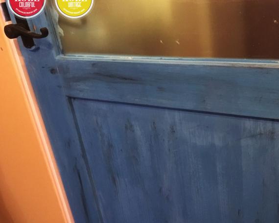 TOKYO OFFICE PAINT DOOR